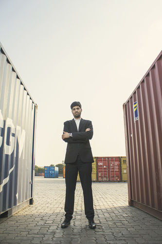 Director's portrait - Kiran Group of industries, Kandla, Gujarat