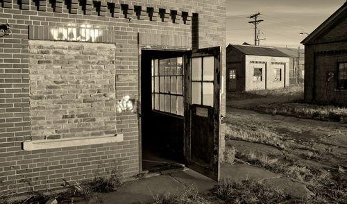 Keep Door Open: looking into an abandoned site