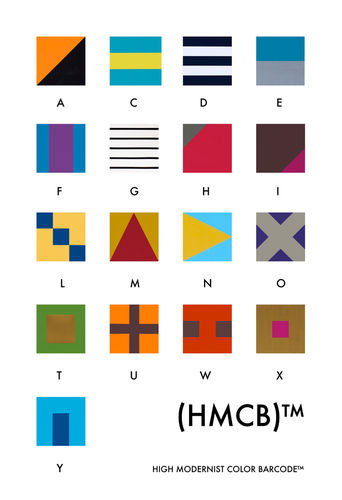High Modernist Color Barcode TM