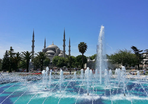 The Blue Mosque, Istanbul, 2016