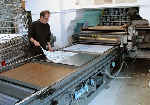 Flatbed Offset Press