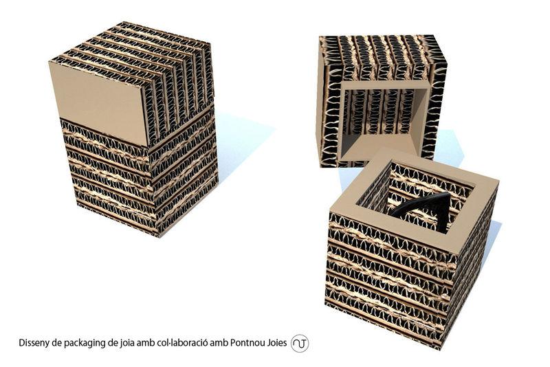 Disseny del packaging de joia amb col·laboració amb Pontnou Joies