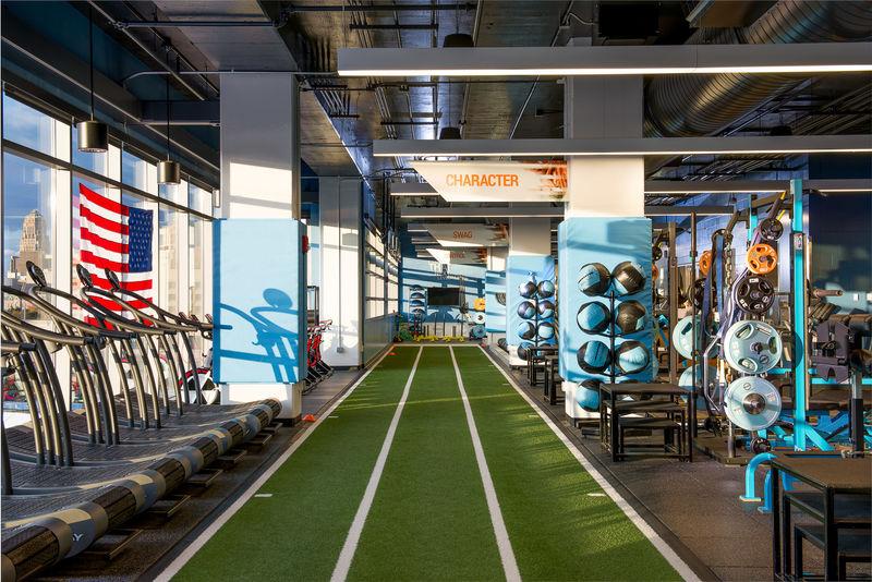 Impact Gym, Marriott HarborCenter