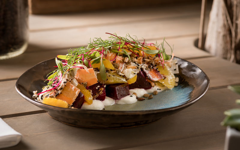 Coffee Roasted Beet Salad