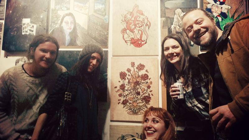 greenpoint gallery salon show - brooklyn 2015