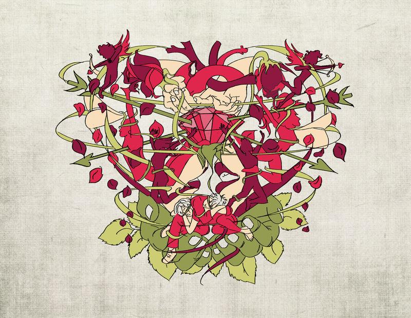 #getstruck #lovetangle #valentinesday