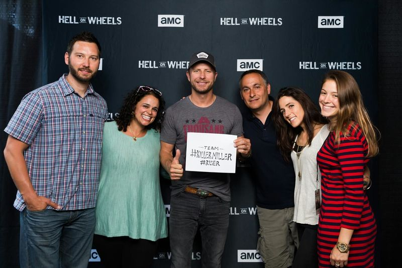 AMC HELL ON WHEELS + DIERKS BENTLY LIVE