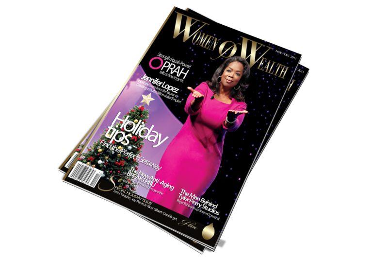 Magazine work | print materials