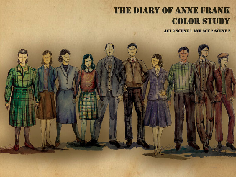 The Diary of Anne Frank-MFA Thesis