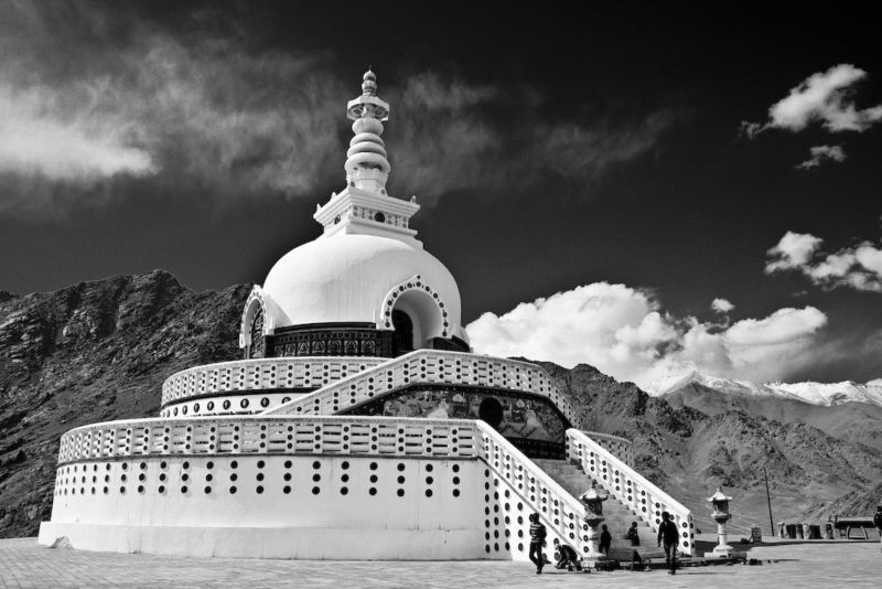 Ladakh : Black & White