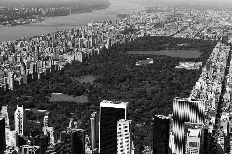 Central Park from the sky