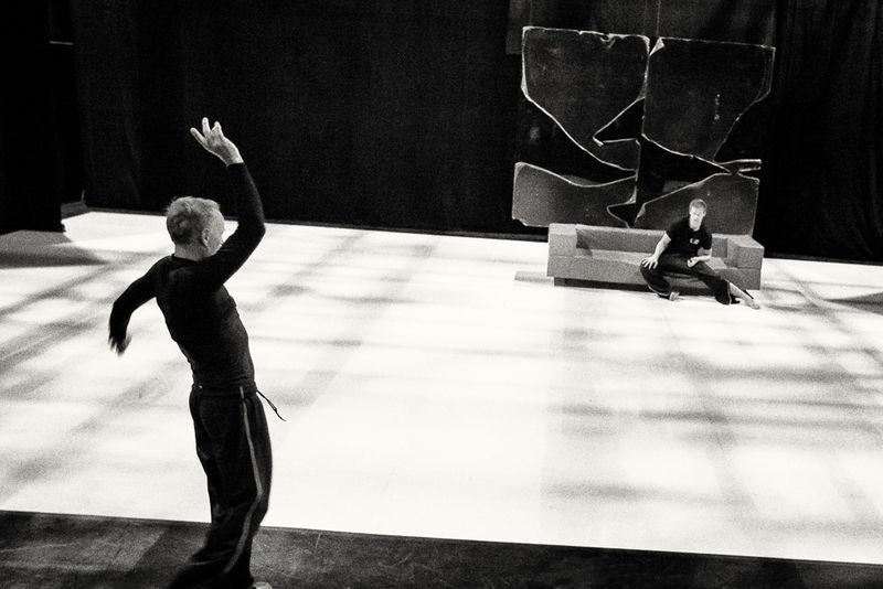 Compagnie Pal Frenak - Backstage