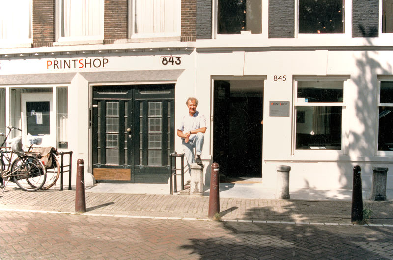 Amsterdam, Printshop Piet Clement 1987- 1990