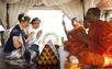 Traditional Thai wedding ceremony at Rocky Resort Koh Samui